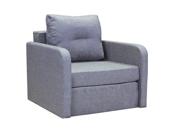 Кресло-кровать «БИТ-2» Мальта серая от компании Yesmeb по цене от 4990.4 руб.